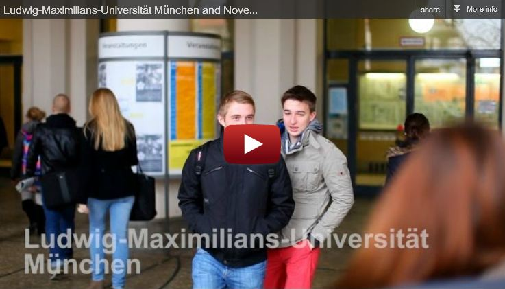 Novell Vibe Success Story with LMU München and ShareOnVibe